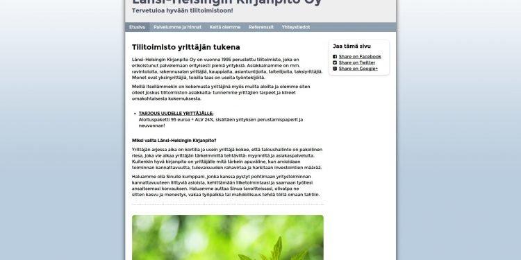 Länsi-Helsingin Kirjanpito Oy