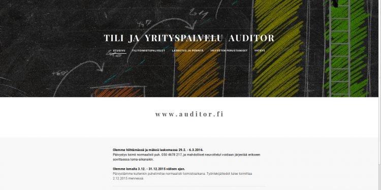 Tili ja Yrityspalvelu Auditor