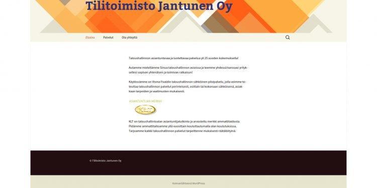 Tilitoimisto Jantunen Oy