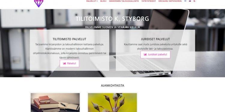 Tilitoimisto K. Styborg