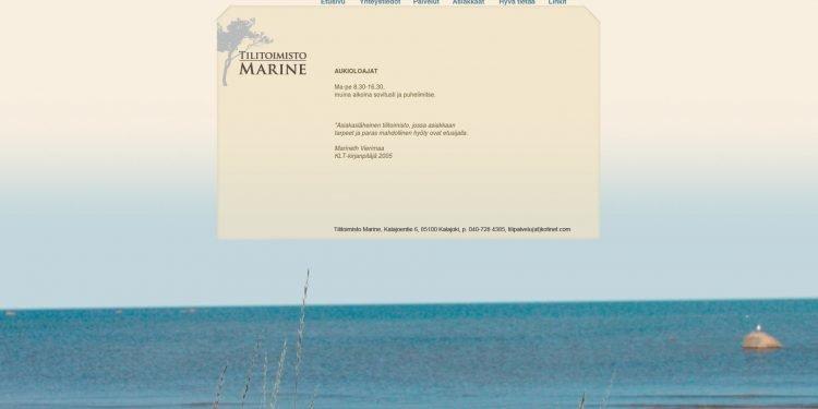 Tilitoimisto Marine
